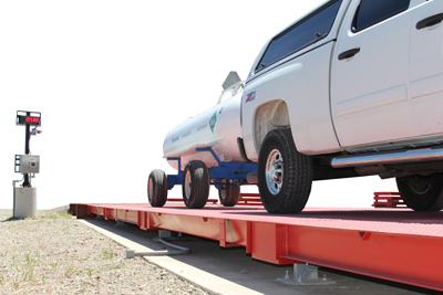 Steel Deck Truck SCale