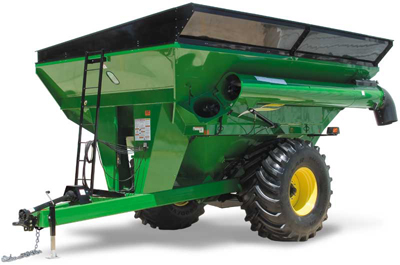 Grain cart scale system